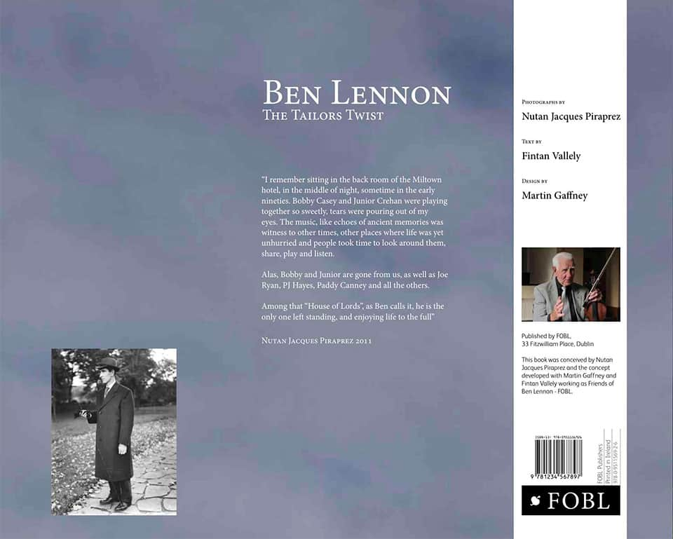 ben lennon the tailors twist back cover
